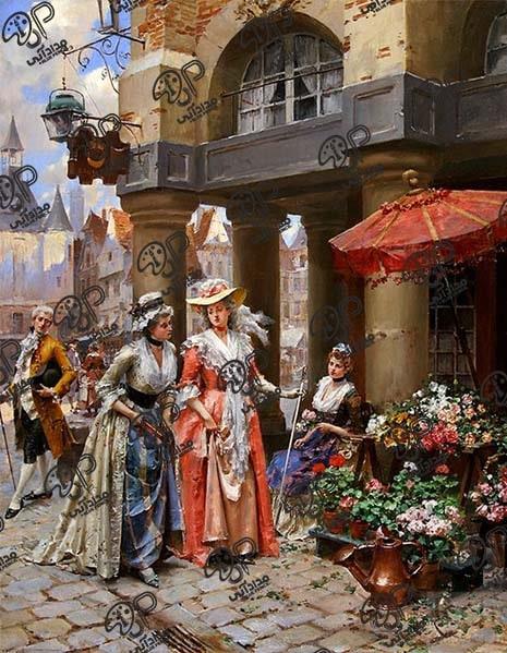 تابلو نقاشی رنگ روغن کلاسیک