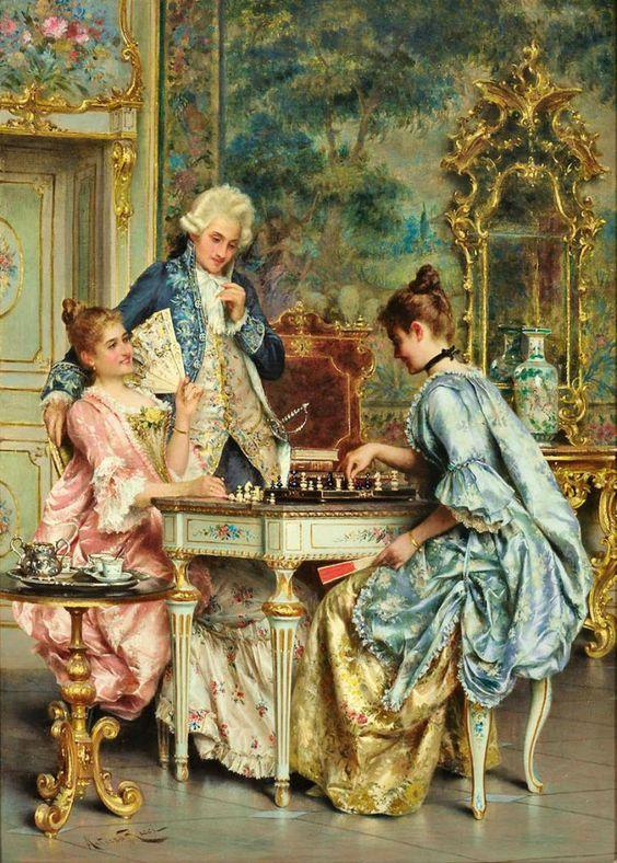 تابلو نقاشی رنگ روغن سلطنتی