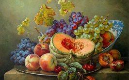 تابلو سبد میوه