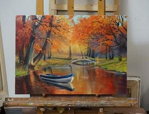 آموزش تابلو نقاشی
