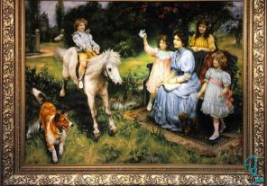 تابلو نقاشی کلاسیک