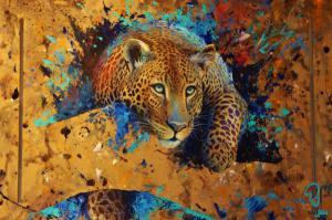 تابلو رنگ روغن هنری