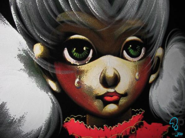 تابلو نقاشی مخمل